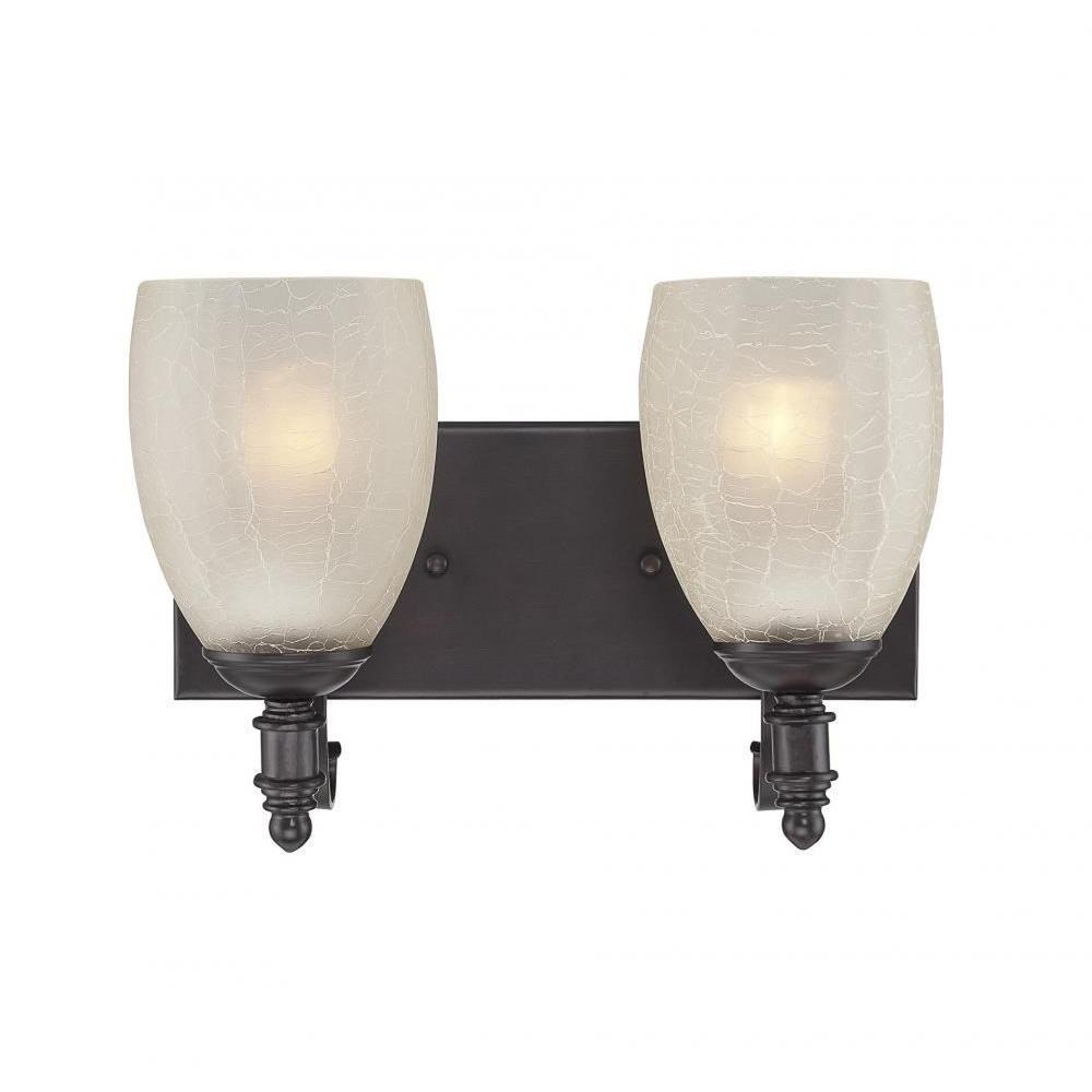 Filament Design Merrill 2-Light English Bronze Bath Vanity Light