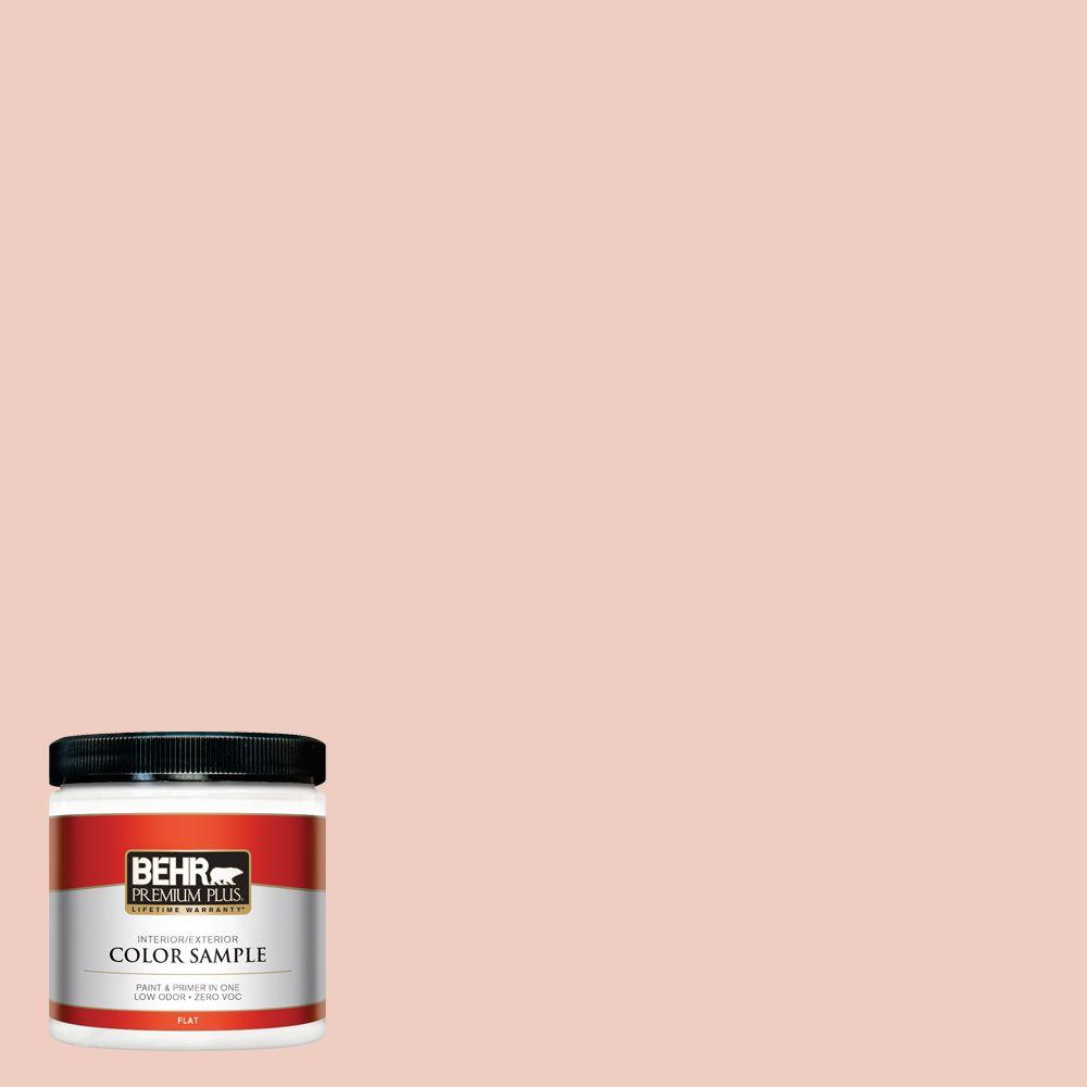 BEHR Premium Plus 8 oz. #200E-2 Salmon Tint Interior/Exterior Paint Sample