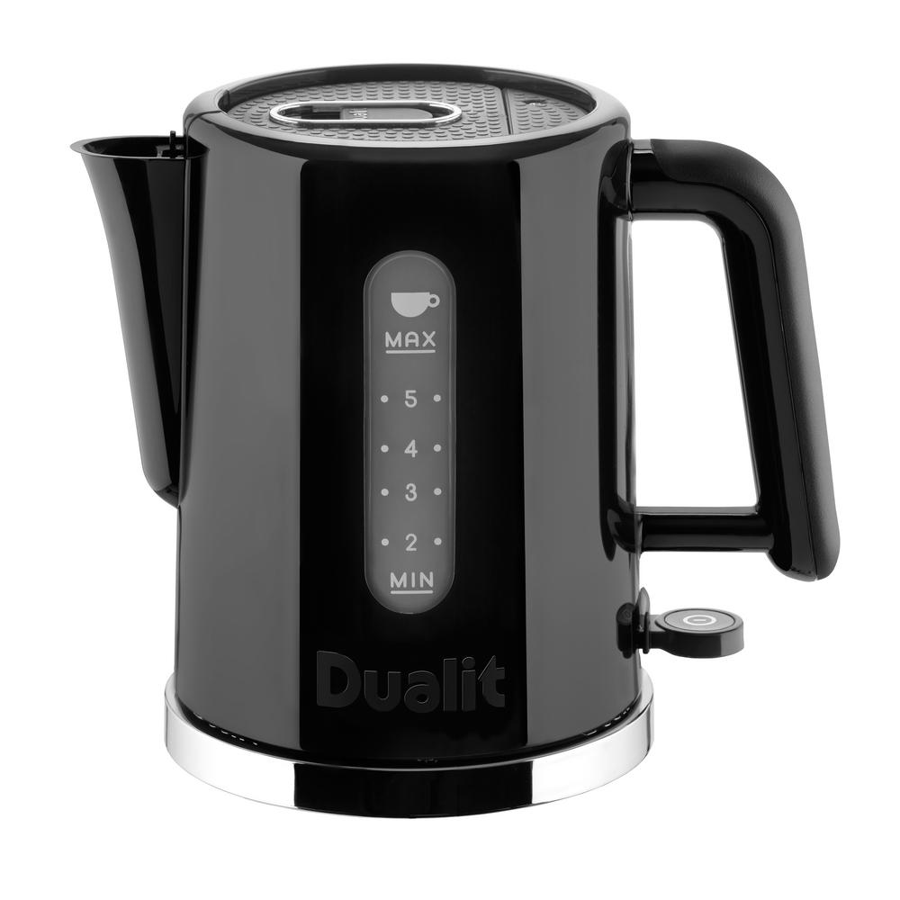 Dualit Studio Blackchrome Electric Kettle 72140 The Home Depot