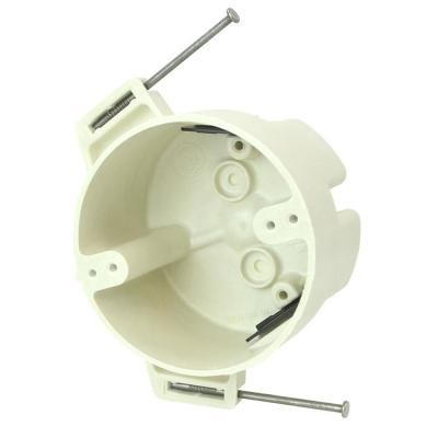 4 in. Dia 22-1/2 cu. in. New Work Nail on Round Outlet Box