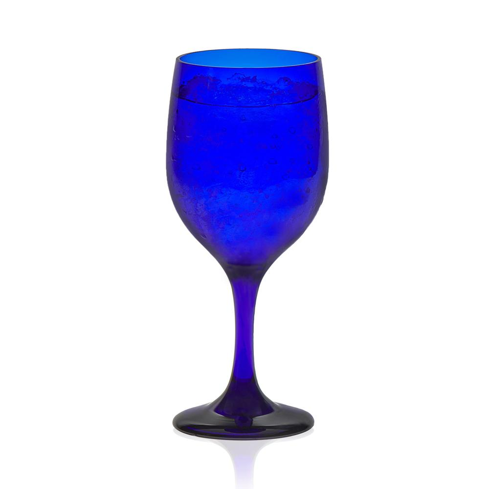 Premiere 11.5 oz. Cobalt Wine Glass Set (12-Pack)