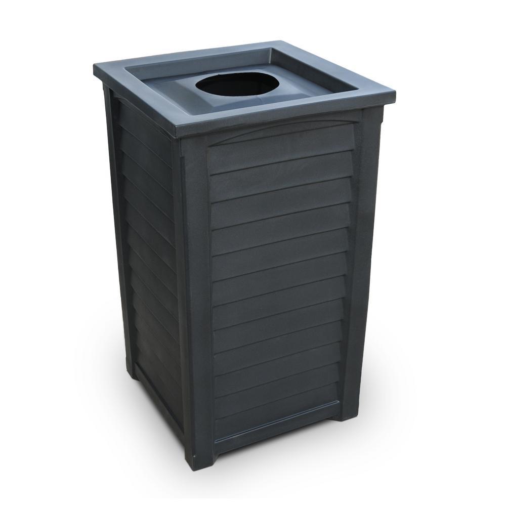 Lakeland 23 Gal. Black Trash Can