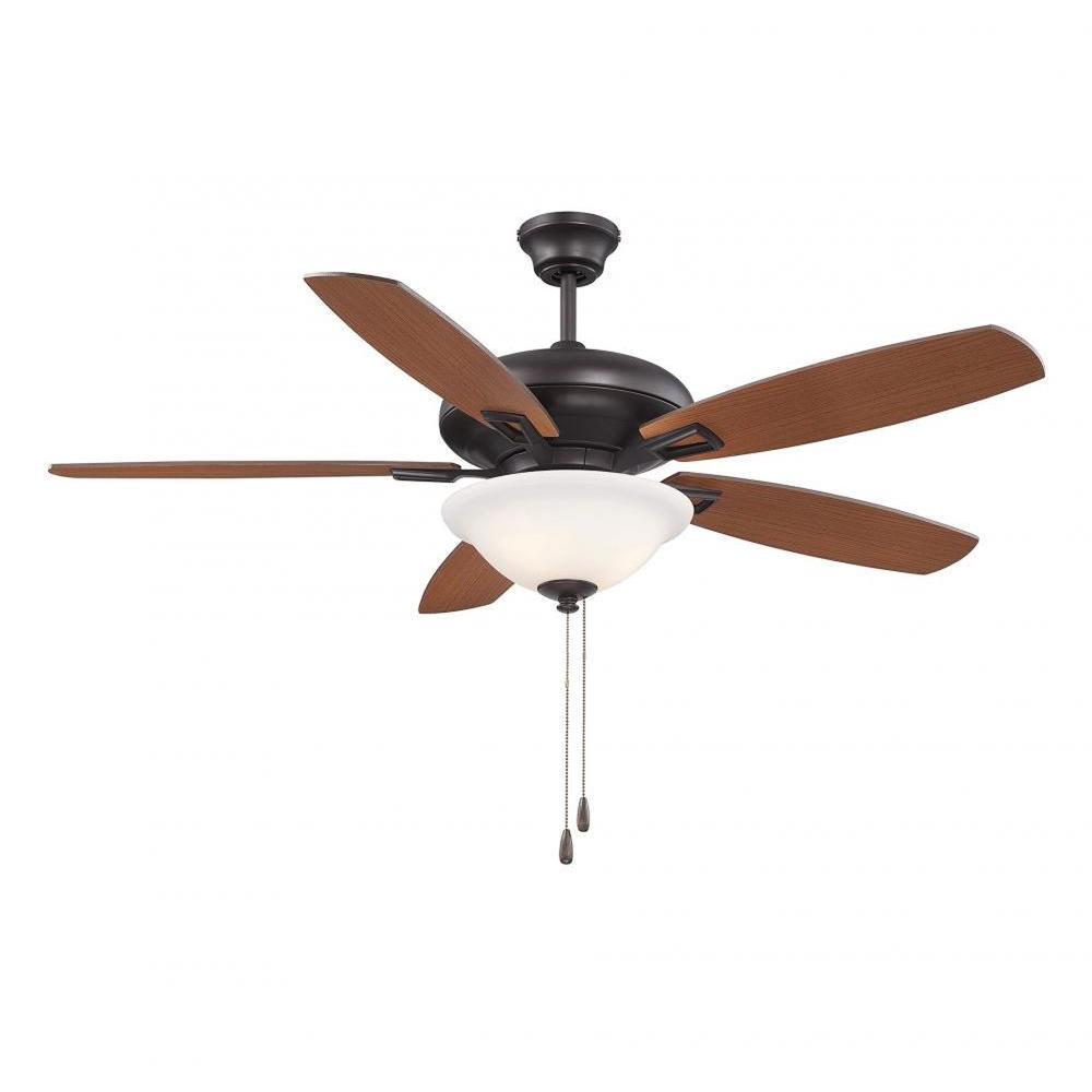 Agro 52 in. English Bronze Indoor Ceiling Fan