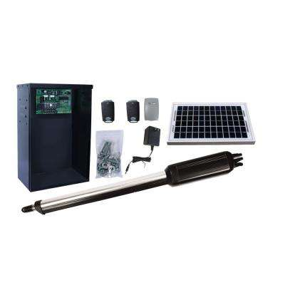 Single Swing Automatic Gate Opener Kit with 5-Watt Solar Panel