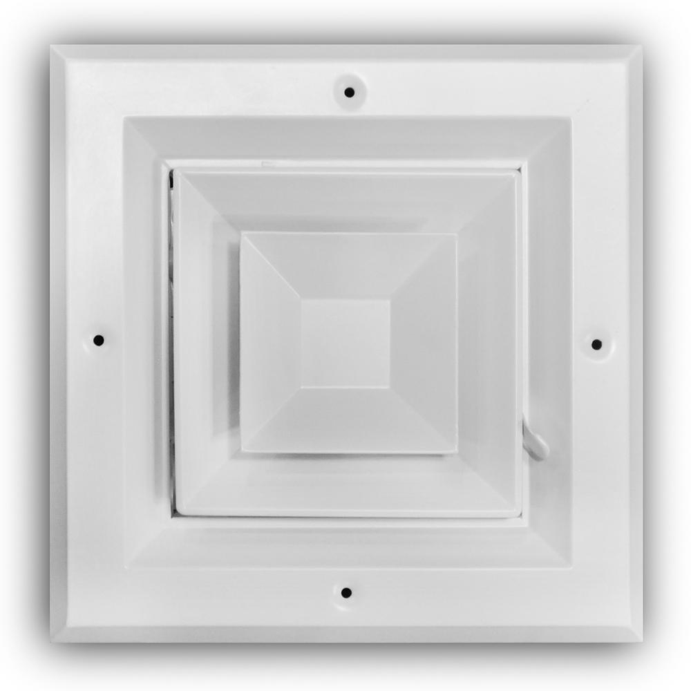 Everbilt 6 In X 6 In 4 Way Square Ceiling Diffuser