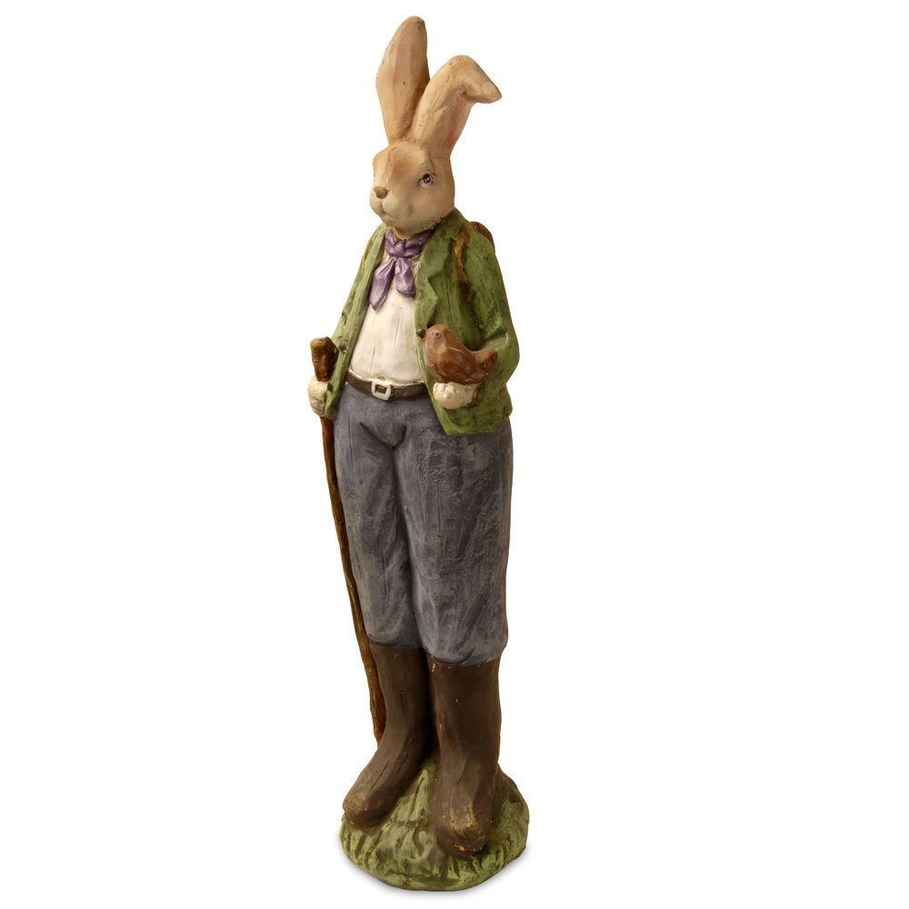 25 in. Garden Accents Rabbit Statue