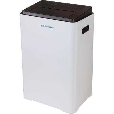 16,000 BTU 230-Volt Portable Air Conditioner with Dehumidifier and Remote