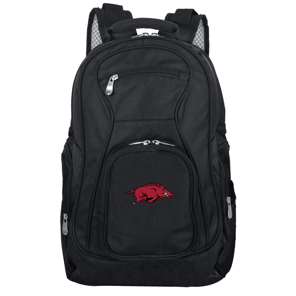 NCAA Arkansas Black Backpack Laptop