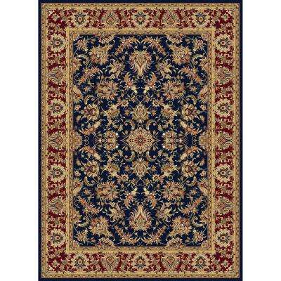 Williams Collection Ararat Navy 7 ft. 10 in. x 10 ft. 10 in. Area Rug
