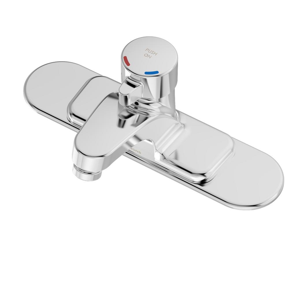 Chrome - Centerset Bathroom Sink Faucets - Bathroom Sink Faucets ...
