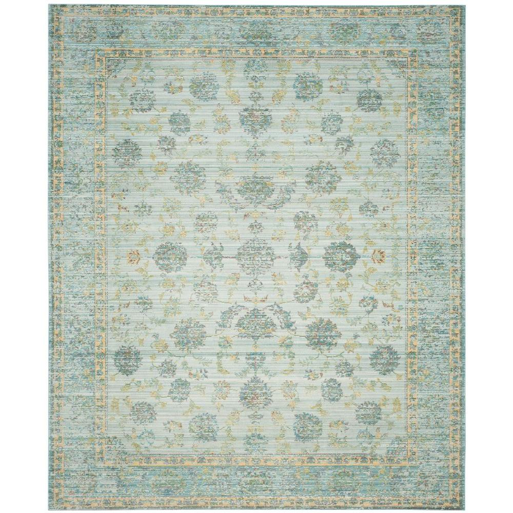 Nuloom Crandall Turquoise 7 Ft 10 In X 9 Ft 6 In Area: NuLOOM Crandall Turquoise 9 Ft. X 12 Ft. Area Rug-CFDO01A