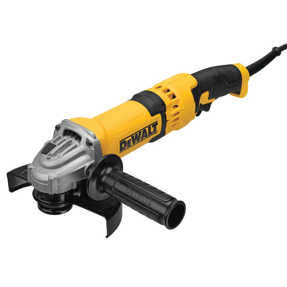 Dewalt 13 Amp Corded 4 1 2 In Angle Grinder Dwe43116 The Home Depot
