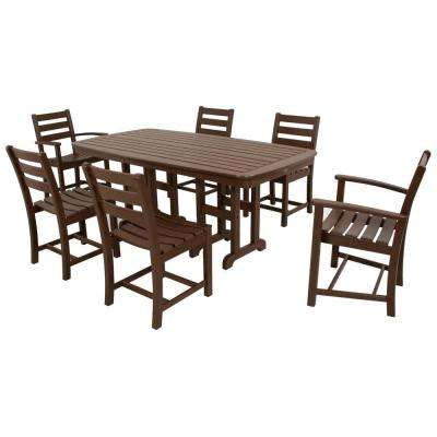 Monterey Bay Vintage Lantern 7-Piece Patio Dining Set