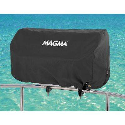Rectangular 12 in. x 24. in Grill Cover for Catalina Grill, Color: Jet Black