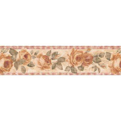Country Rose Wallpaper Border
