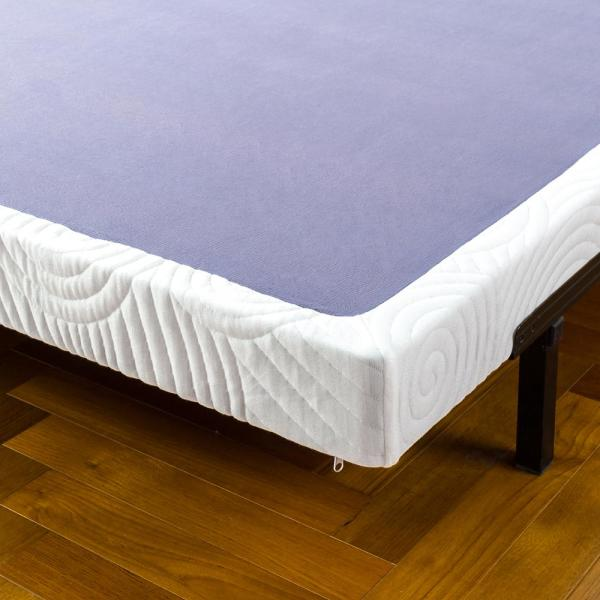 Zinus Edgar 4 Inch Low Profile Wood Box Spring Mattress Foundation King Hd Wdbs 4k The Home Depot