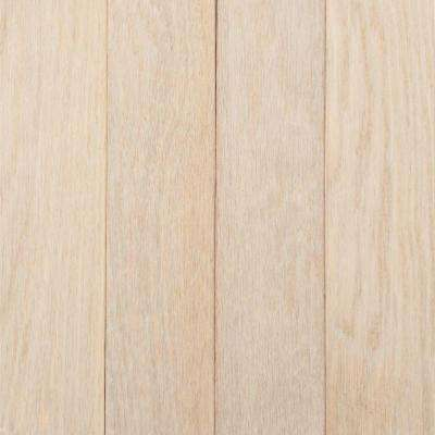 American Originals Sugar White Oak 3/4 in. x 2-1/4 in. x Varying L Solid Hardwood Flooring (20 sq. ft. /case)
