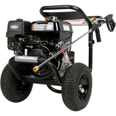 PowerShot 4000 PSI at 3.3 GPM HONDA GX270 with AAA Industrial Triplex Pump Cold Water Professional Gas Pressure Washer