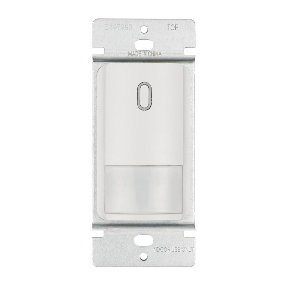 Occupancy Sensor Wall Control for Bathroom Exhaust Fan