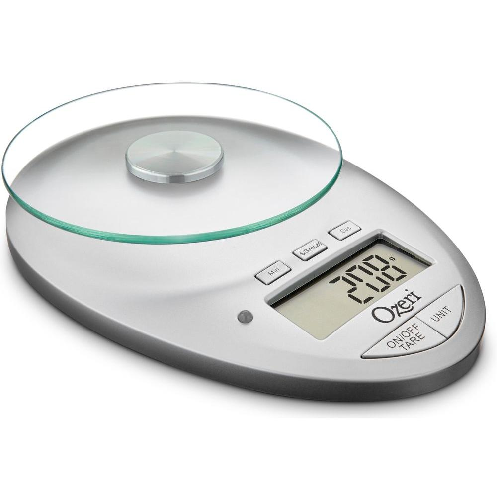 Digital Kitchen Scale: Ozeri Pro II Digital Kitchen Scale With Removable Glass