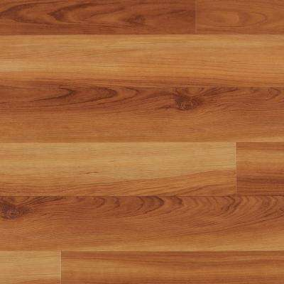 Take Home Sample - Warm Cherry Luxury Vinyl Flooring - 4 in. x 4 in.