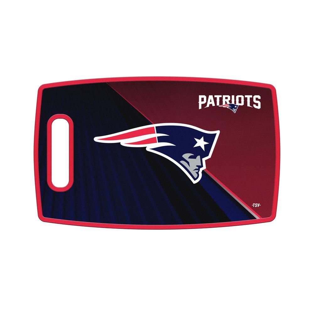 New England Patriots Large Plastic Cutting Board