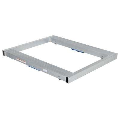 8,000 lb. Capacity 40 in. x 48 in. Aluminum Pallet Dolly Tilt