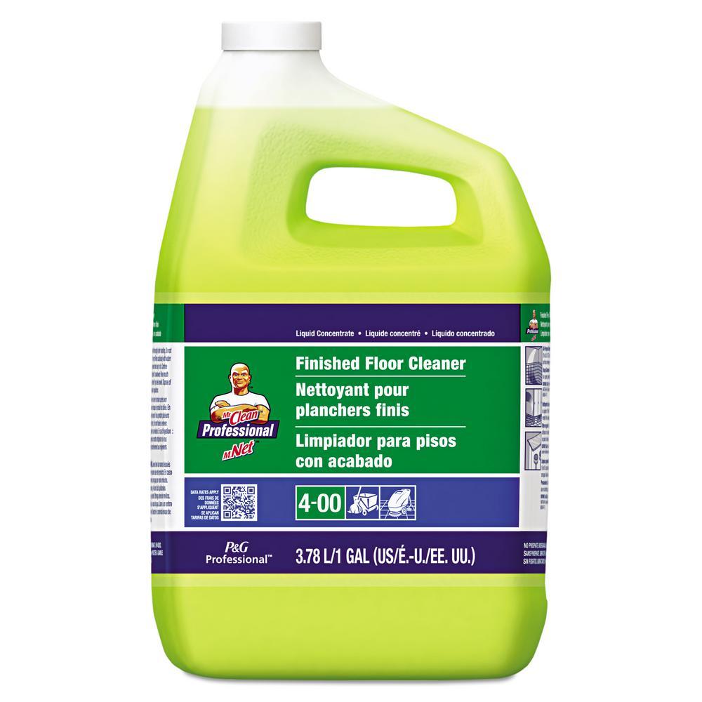 Mr Clean 1 Gal Lemon Scent Finished Floor Cleaner Case