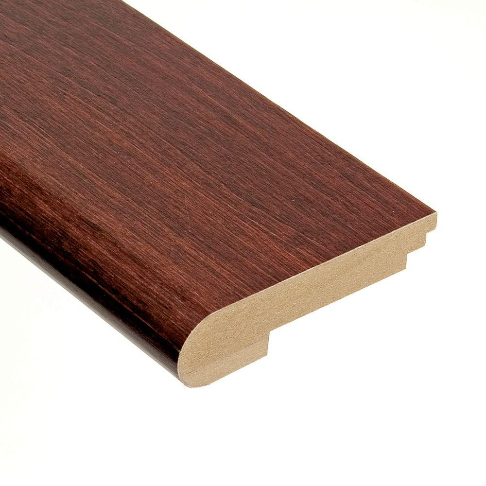 Home Legend Maple Saddle 3/4 in. Thick x 3-1/2 in. Wide x 78 in. Length Hardwood Stair Nose Molding