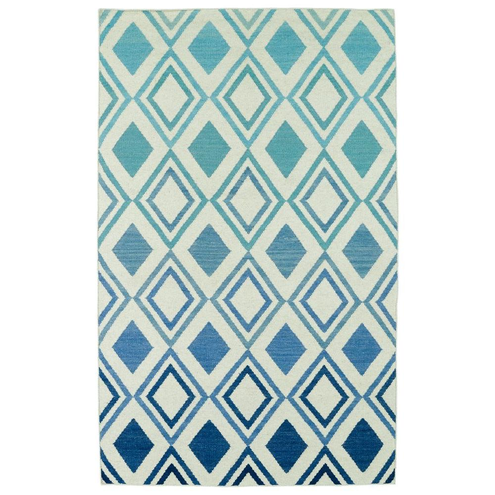 Glam Blue 3 ft. 6 in. x 5 ft. 6 in.