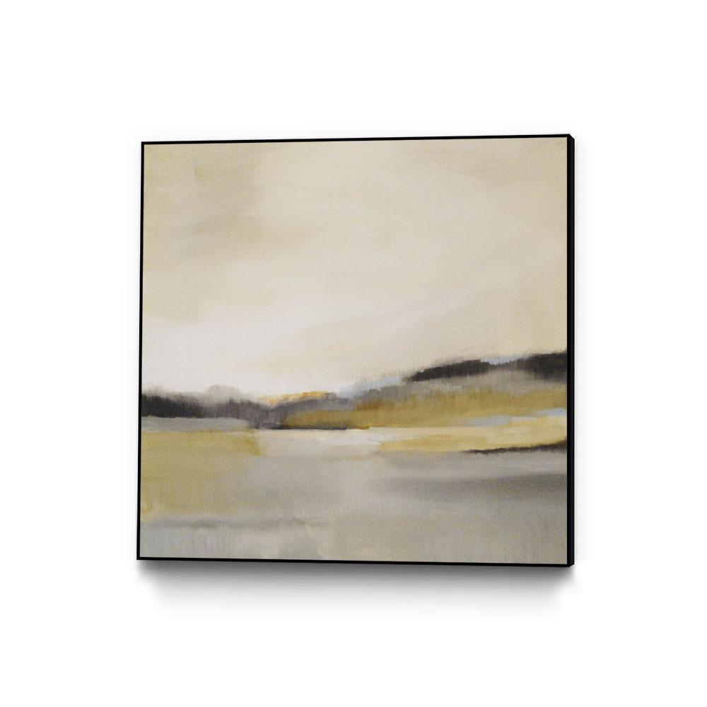 20 in. x 20 in. ''Morning Beach'' by Alison Jerry Framed Wall Art