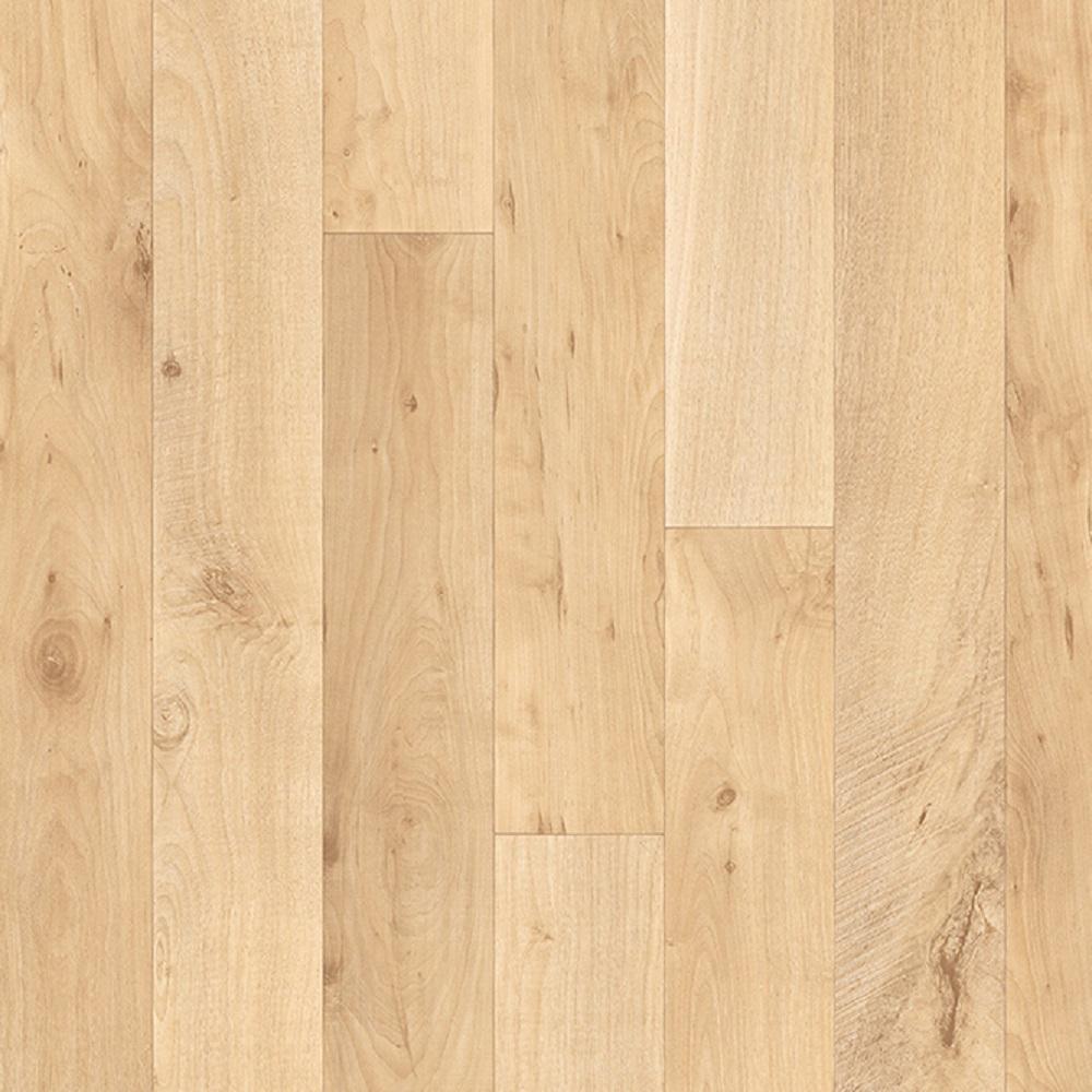 Sawyer Blonde Wood Residential Vinyl Sheet Flooring 13.2ft. Wide x Cut to Length