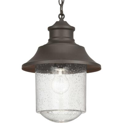 Weldon Collection Bronze 1-Light Hanging Lantern