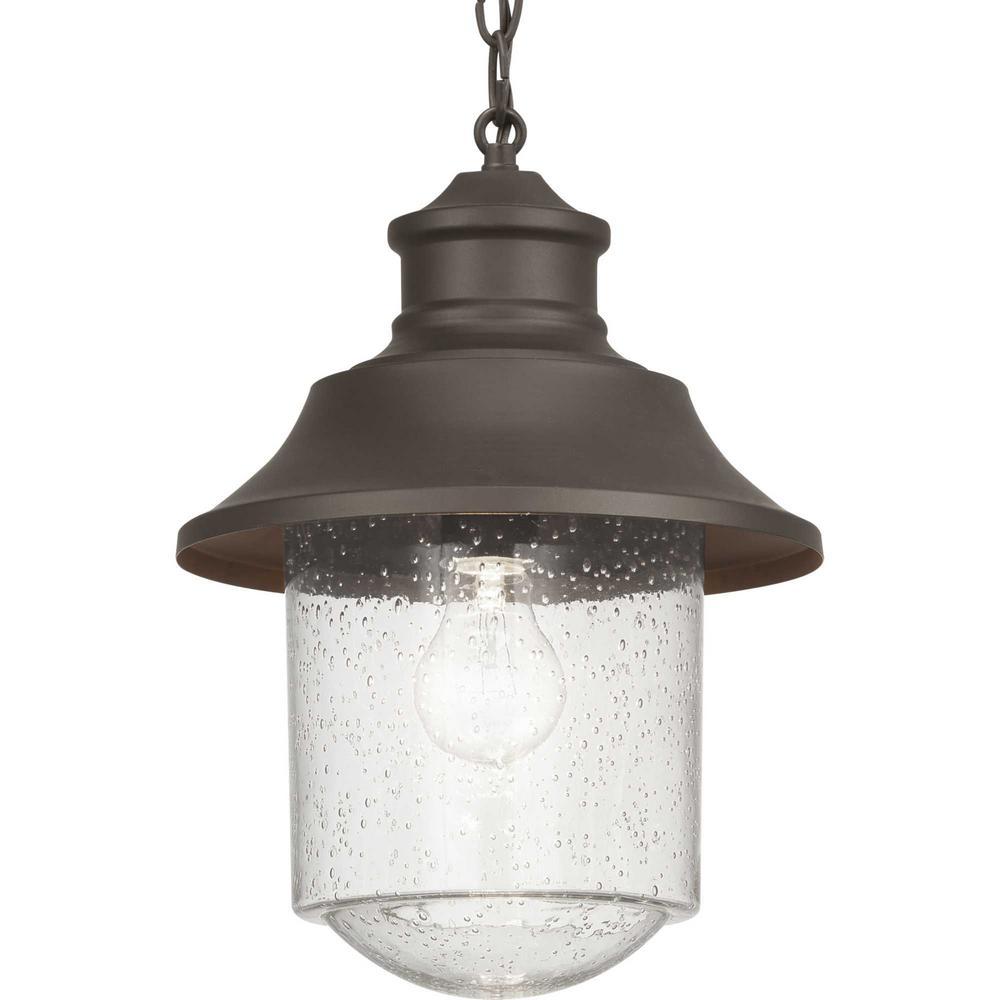 Weldon Collection Bronze 1-Light Hanging Lantern