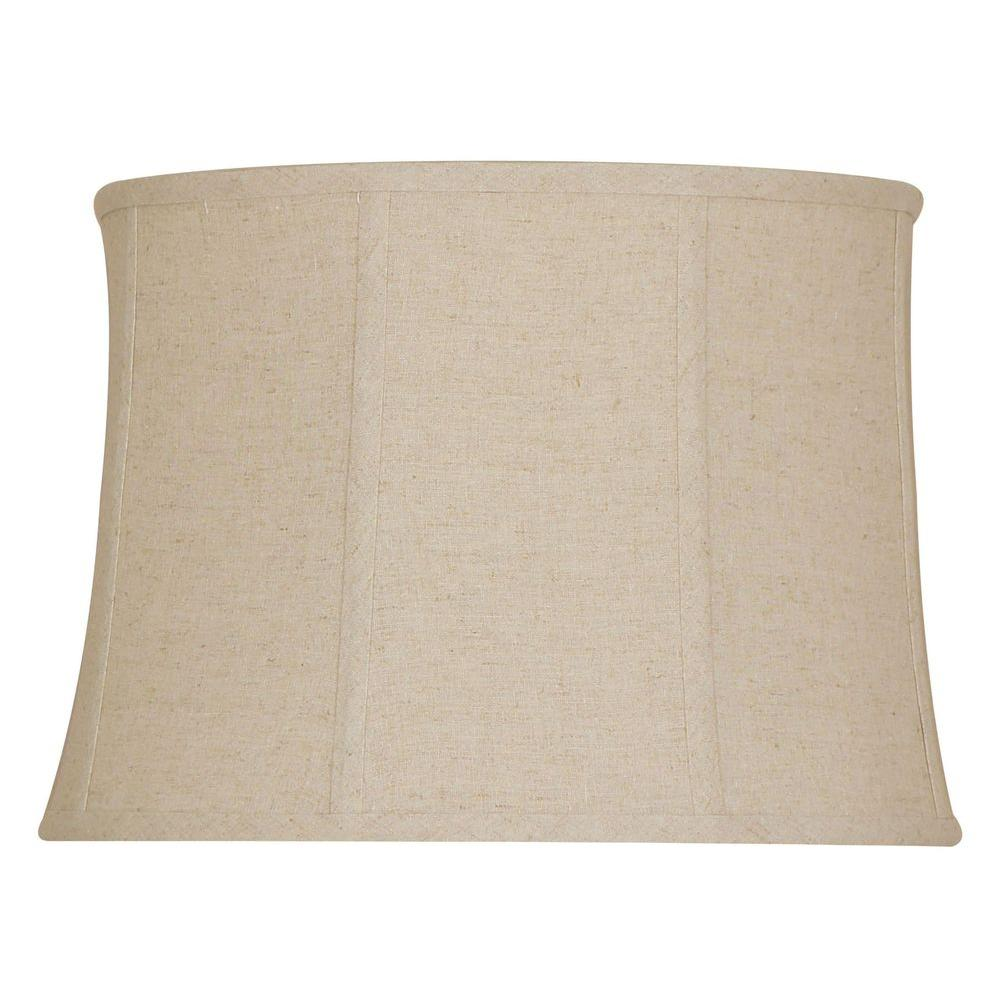 null Mix & Match Linen Bell table Shade