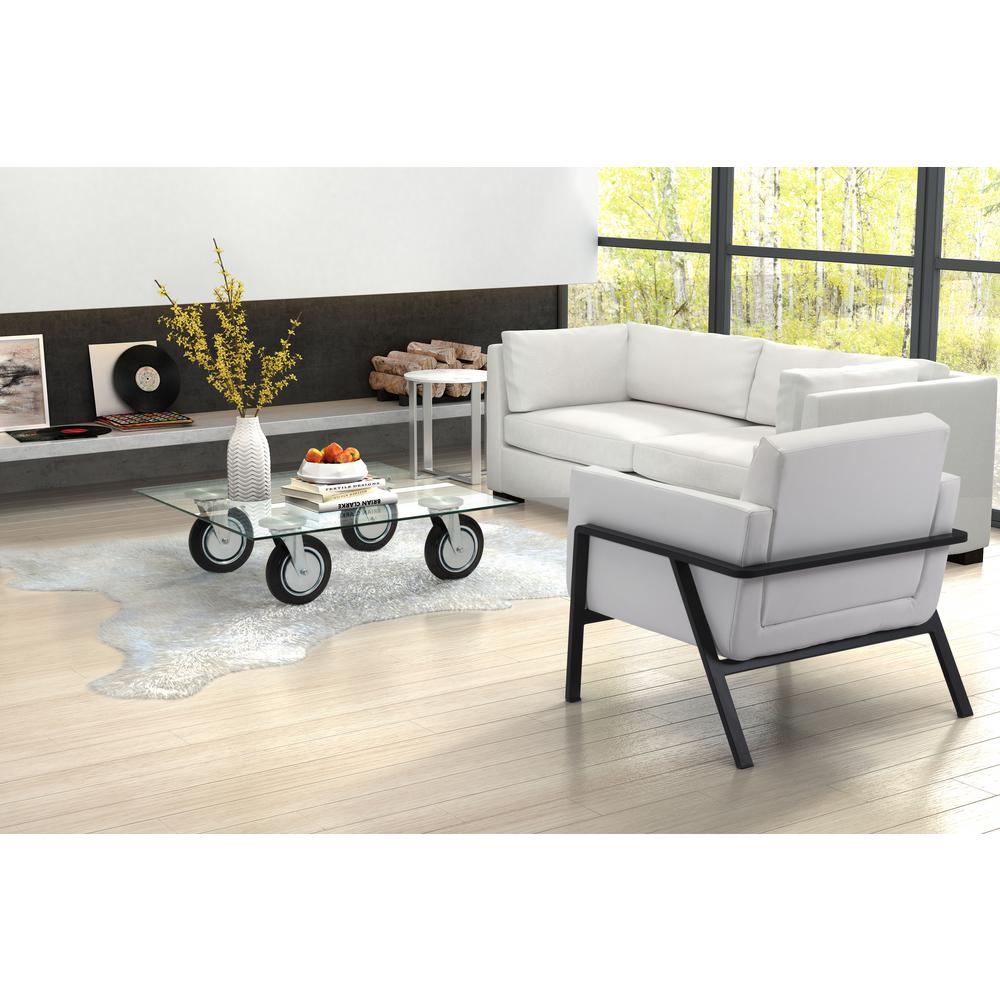 ZUO Belle Clear Coffee Table-100755