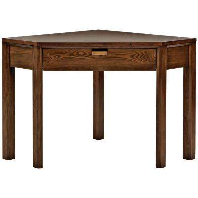 Riley Warm Chestnut Corner Desk