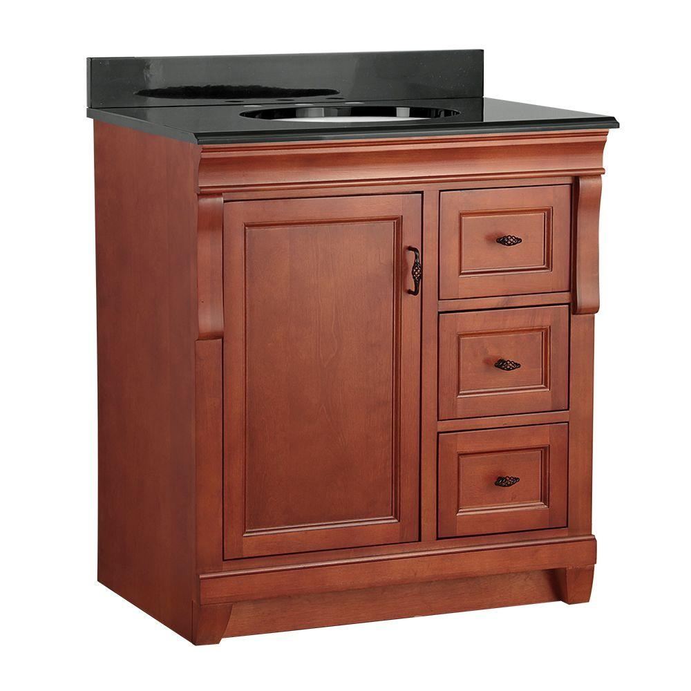 Naples 31 in. W x 22 in. D Vanity in Warm