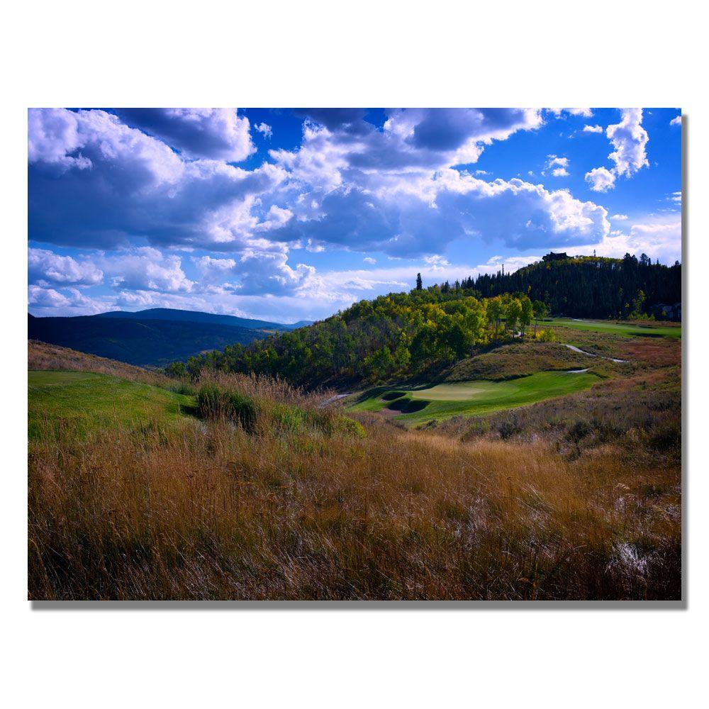 null 18 in. x 24 in. Golfers Paradise Canvas Art