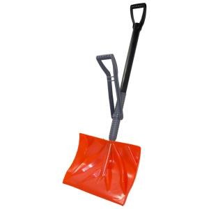 Emsco Bigfoot Series 18 inch Poly Combination Snow Shovel with Adjustable Power Lift... by Emsco