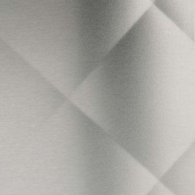 36 in. x 30 in. Quilted Stainless Steel Backsplash