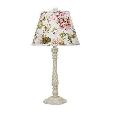 29 in. White Table Lamp