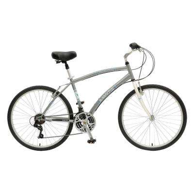 Premier 726M Comfort Bicycle, 26 in. Wheels, 18 in. Frame, Men's Bike in Silver