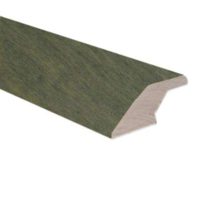 Slate 3/4 in. Thick x 2-1/4 in. Wide x 78 in. Length Hardwood Lipover Reducer Molding
