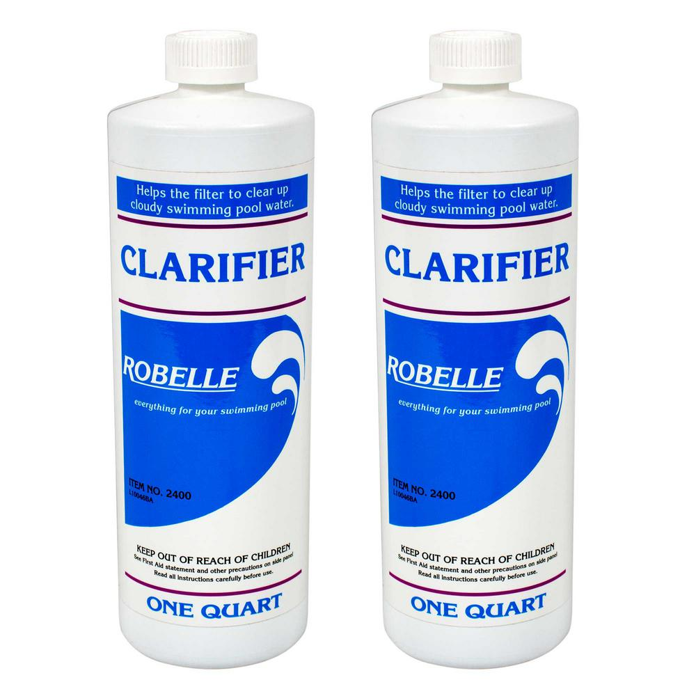 Robelle 1 qt. Pool Clarifier (2-Pack)