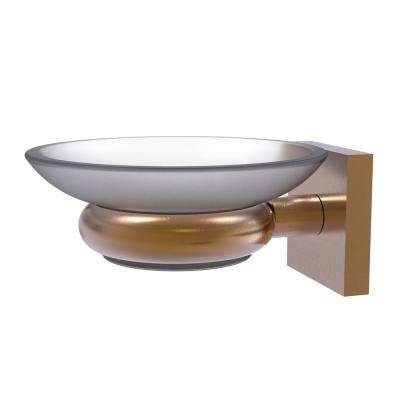Montero Collection Wall Mounted Soap Dish in Brushed Bronze