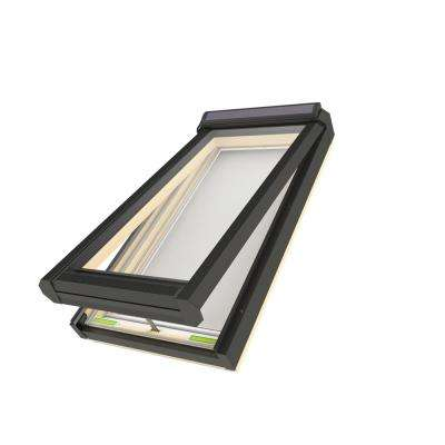 FVS 22-1/2 in. x 37-1/2 in. Solar Powered Venting Deck-Mounted Skylight with Laminated Low-E366 Glass