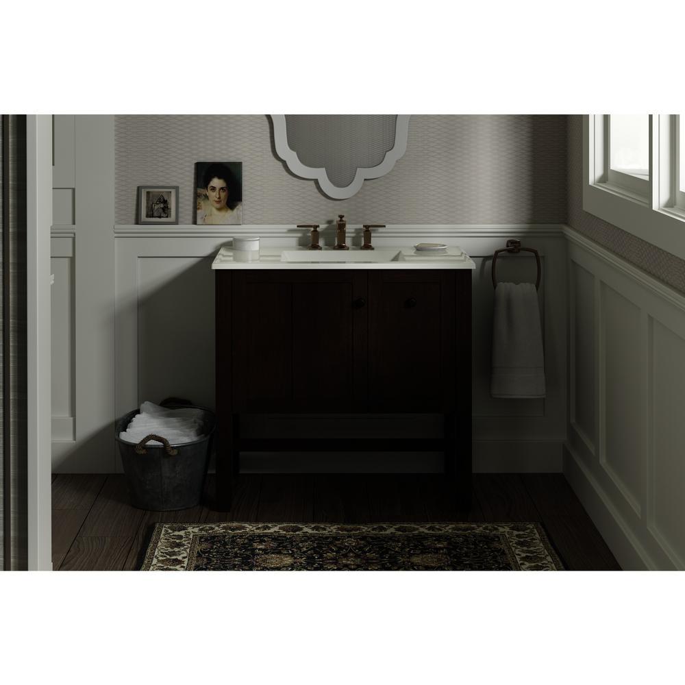 Tresham 36 in. W x 21-7/8 in. D x 34-1/2 in. H Vanity Cabinet in Woodland