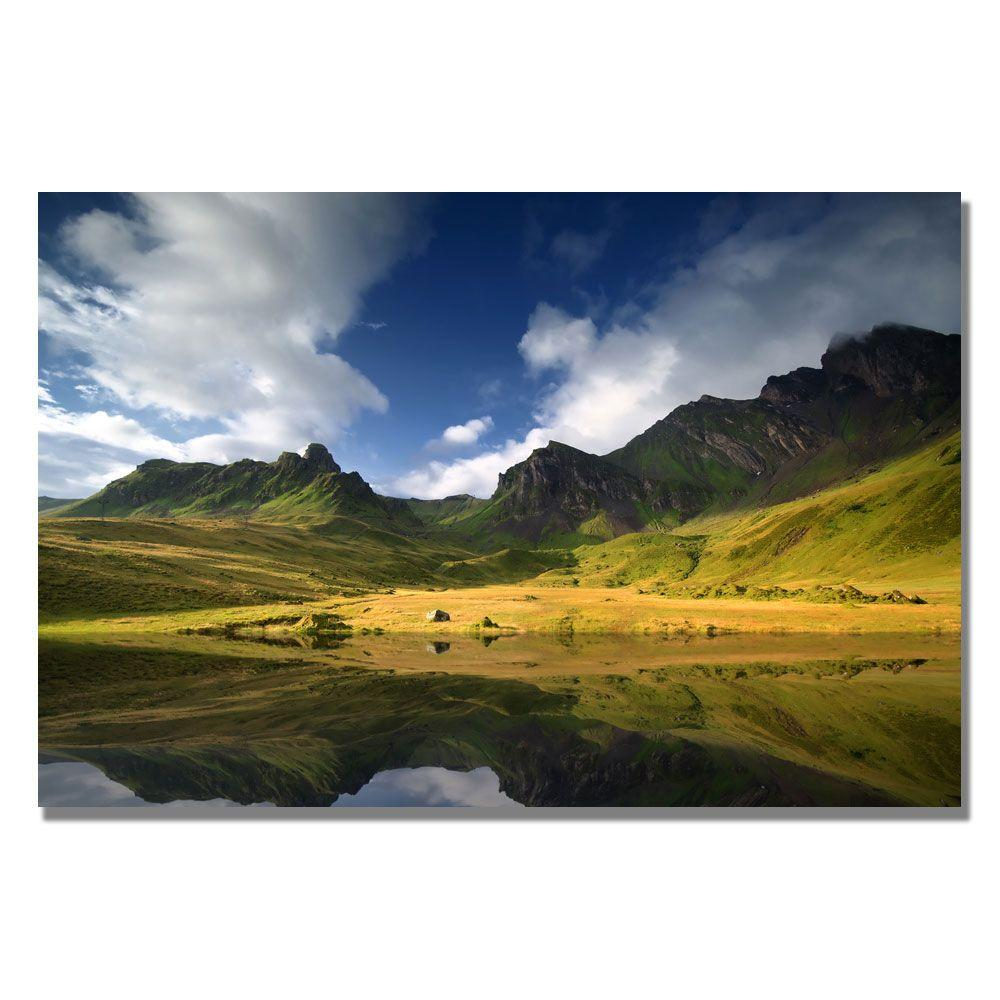 Trademark Fine Art 16 in. x 24 in. Distract Canvas Art-DISCONTINUED
