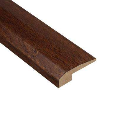 Moroccan Walnut 3/8 in. Thick x 2-1/8 in. Wide x 78 in. Length Hardwood Carpet Reducer Molding